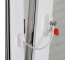 BSL CABLE PRIME Baby safety window restrictor for PVC windows