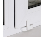 BSL SASH OPTIMA Baby safety window restrictor for PVC windows